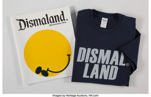 Banksy, 'Dismaland Bemusement Park (Booklet and T-shirt)', 2016