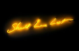 Tracey Emin, 'Should Love Last', 2017