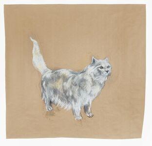 Nicola Hicks, 'White Cat', 2003
