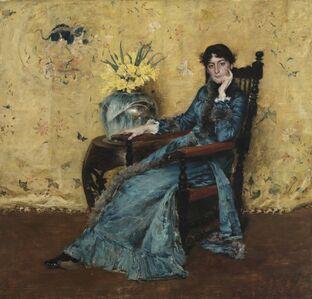 William Merritt Chase, 'Portrait of Dora Wheeler', 1882-1883