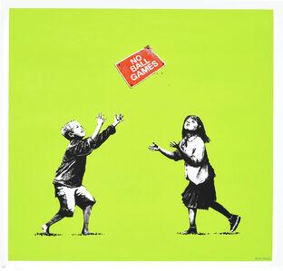 Banksy, 'No Ball Games', 2009