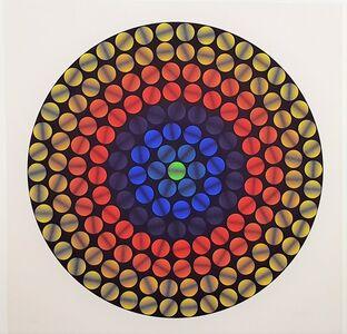 Ivan Picelj, 'Cyclophoria', Circa 1971