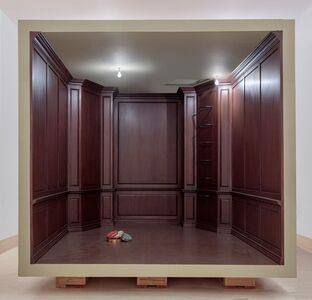 Robert Therrien, 'No title (paneled room)', 2017