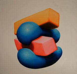 Brian Bonebrake, 'Orange on top', 2015
