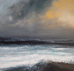 Ruth Brownlee, 'Mid December Storm : Ness', 2019