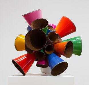 James Angus, 'Polychrome Pipe Burst', 2015