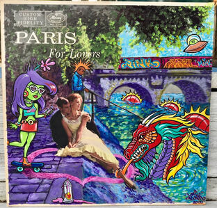 """LADY PINK, '""""Paris is For Lovers""""', 2018"""