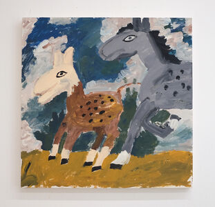 Sophie d'Ansembourg, 'Untitled (horses)', 2018