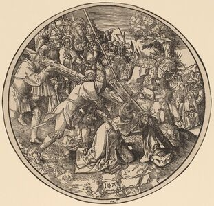 Jacob Cornelisz van Oostsanen, 'Christ Carrying the Cross', 1514