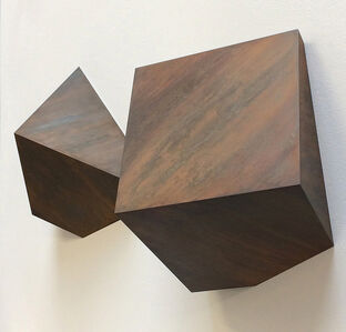 Mark Firth, 'Ten Inch Split Cube', 2019