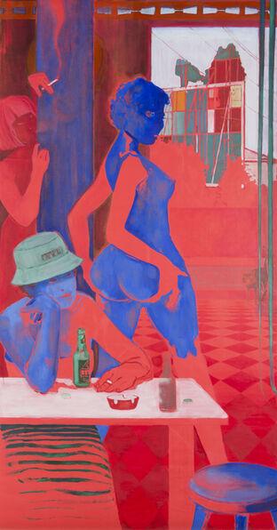 Lisa Brice, 'Midday Drinking Den, after Embah I', 2017