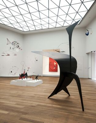 Calder in the Tower, installation view