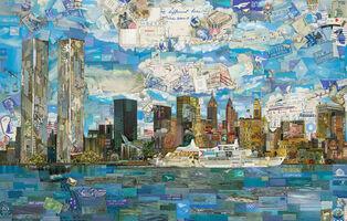 Vik Muniz, 'New York Postcard (Postcards from Nowhere)', 2013