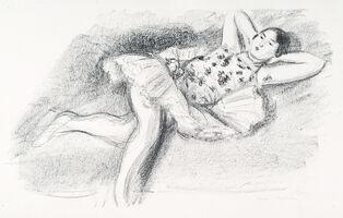 Henri Matisse, 'Danseuse Étendue au Divan [Mains À la Nuque]', 1927