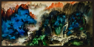 Background Story: Mount Huang 背后的故事:黄山图