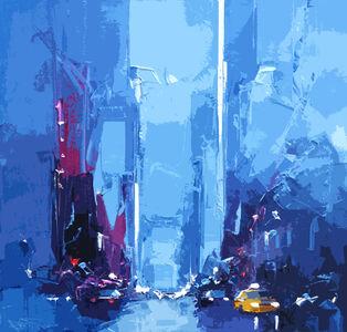 Daniel Castan, 'Taxi on Manhattan', 2017-2018
