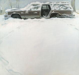 Shawn Fields, 'Winter Wagon', not dated