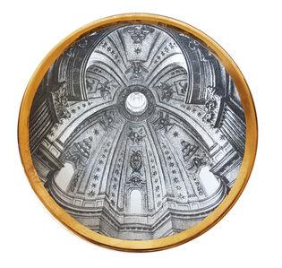 """Piero Fornasetti, 'Piero Fornasetti plate from the series of church domes """"Cupole d'Italia""""', ca. 1960"""