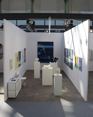 Pierre-Yves Caër Gallery at Art Paris Art Fair 2018, installation view