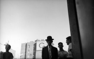 Saul Leiter, 'Man with Tie', ca. 1949