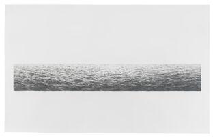 Vija Celmins, 'Untitled (Large Ocean)', 1972