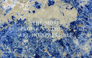Jenny Holzer, 'Selection from Truisms: The most profound... (detail) ', 2015