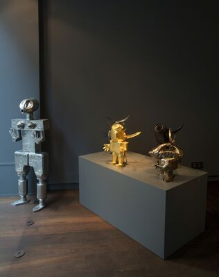From Mythology to Robots, installation view