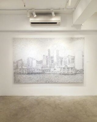 Landscaping, installation view