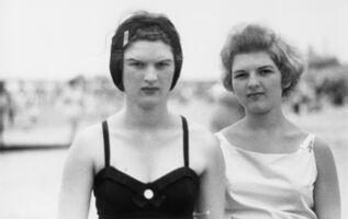 Diane Arbus, 'Two girls on the beach,  Coney Island, N.Y. 1958', 1958