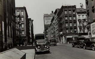 Walker Evans, 'First Avenue and East 61st Street, New York', 1938