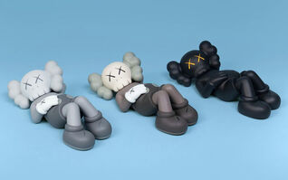 KAWS, 'Holiday Japan Companion (Full Set of 3 colors: Brown, Black & Grey)', 2019