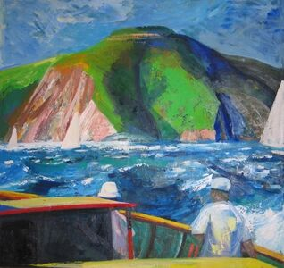 James Weeks, 'Boating on the Bay', 1962