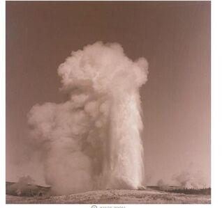 Lynn Davis, 'Old Faithful, Yellowstone National Park, Wyoming', 1990
