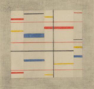 Burgoyne Diller, 'Third Theme #414', 1950