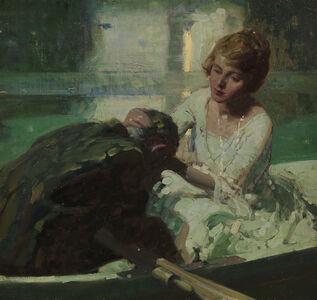 Dean Cornwell, 'The Torrent', 1918