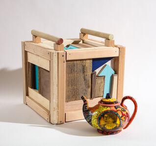 Roberto Lugo, 'Sonia Sotomayor Teapot and Box Set', 2021