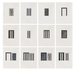 Brice Marden, '12 Views for Caroline Tatyana', 1989