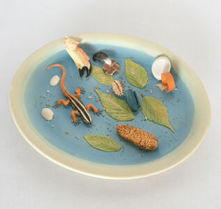 Richard Shaw, 'Crab Claw and Red Tailed Skink Dish', 2018