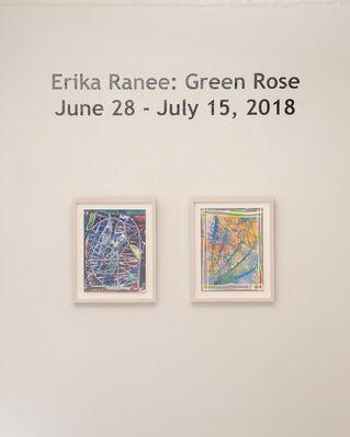 Erika Ranee   Green Rose, installation view