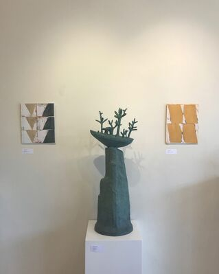Sadie Brockbank, Comhghall Casey, Terry Greene, installation view