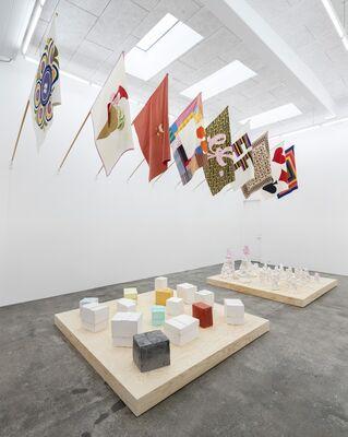 Poul Gernes | Paintings, Sculptures, Flags, etc., installation view