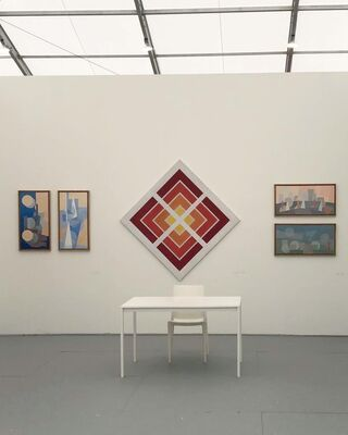 Herlitzka + Faria at UNTITLED Art, Miami Beach 2019, installation view