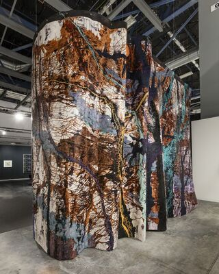 Maccarone at Art Basel in Miami Beach 2016, installation view