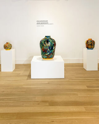 Colourground, installation view