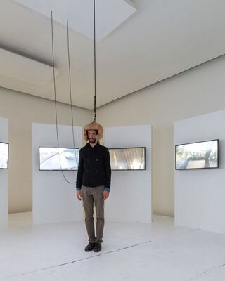 Multimedia Installation by Bernard Khoury, installation view