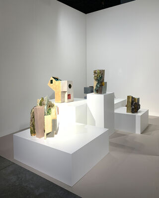 Galerie nächst St. Stephan Rosemarie Schwarzwälder at Art Basel in Miami Beach 2019, installation view