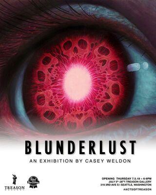 Casey Weldon: BLUNDERLUST, installation view