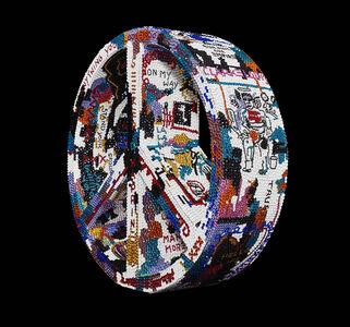"""Metis Atash, 'SYMBOL """"LIFE IS ART VI"""" feat. Basquiat', 2019"""