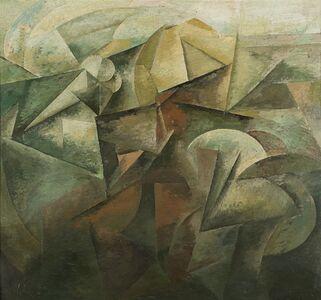 Roberto Marcello Baldessari, 'Dinamismo di paesaggio', 1915 ca.