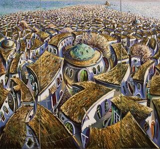 Jalal Aghayev, 'Old City (triptych)', 2018